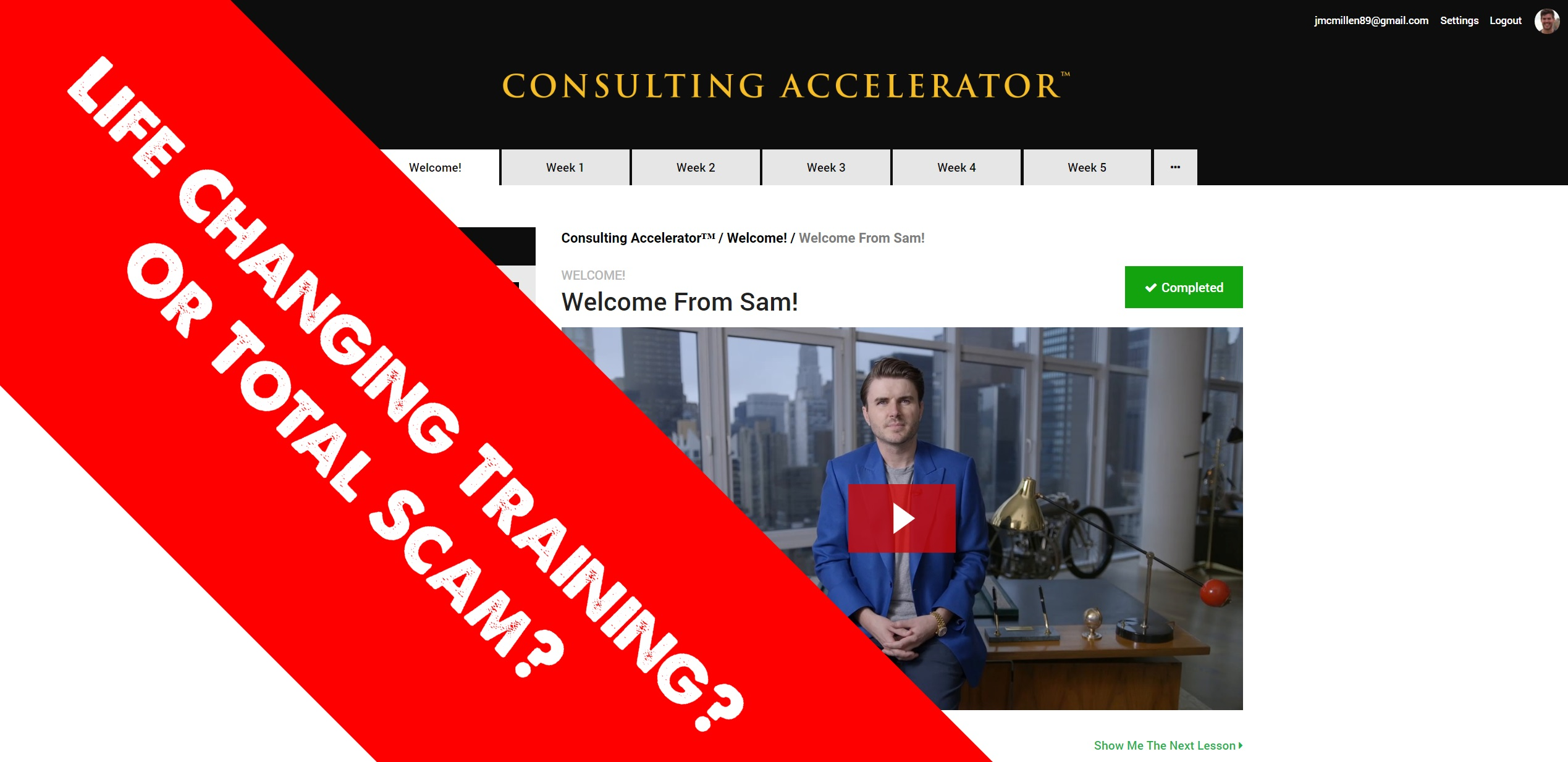 Is Sam Ovens' Consulting Accelerator A Scam? (In-Depth Review)