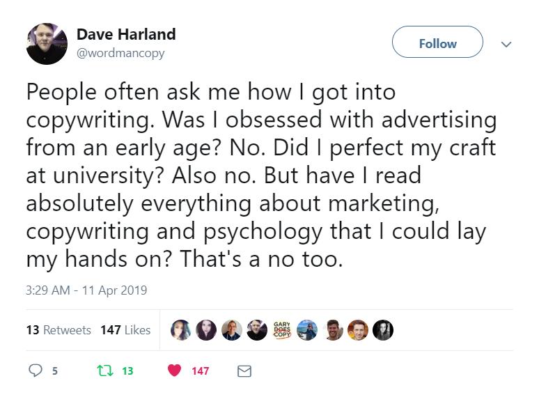 beste dating niche copywriter