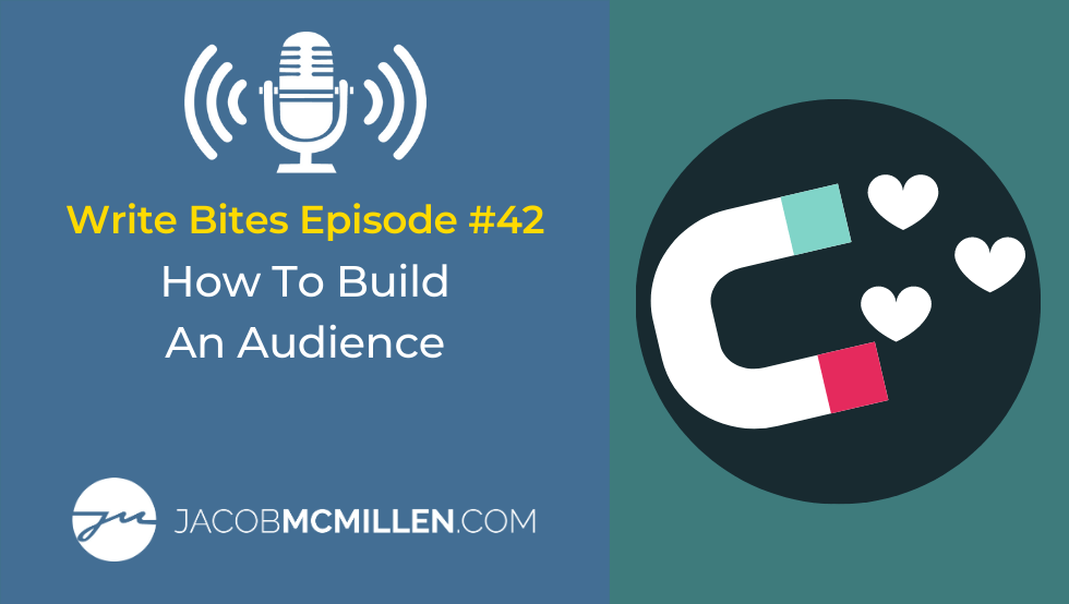Write Bites #42: How To Build An Audience Through Writing